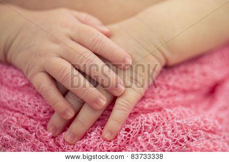 Baby Girl Hands