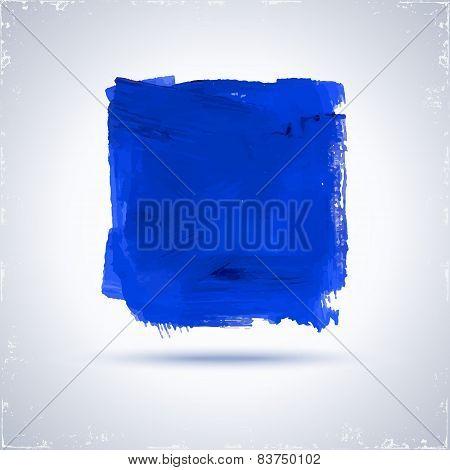 Blue Paint Square.