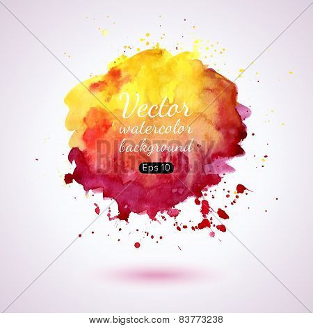 Watercolor Splash.