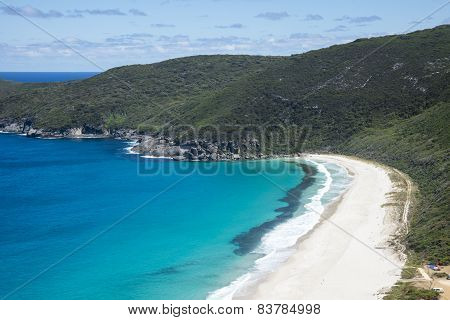 A View of Shelley Beach in West Cape Howe National Park near Albany