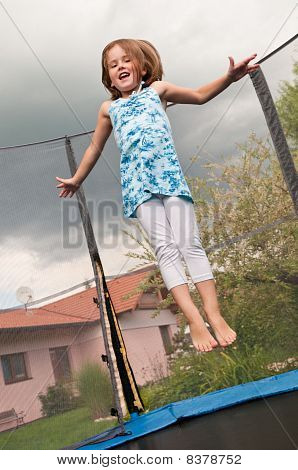 Big Fun - Child Jumping Trampoline