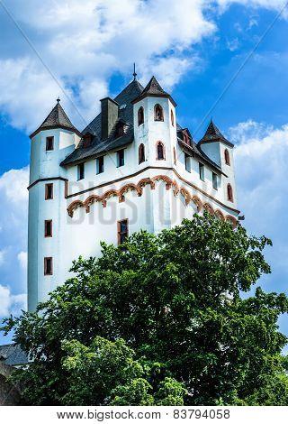 Castle Eltville am Rhein. Wine and Rose City