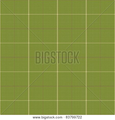 Seamless Green Texture With Checkered Pattern