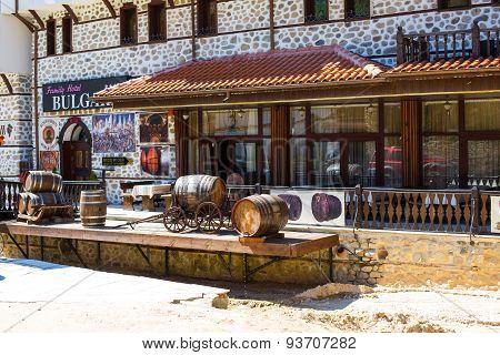 Wine museum in Melnik town, Bulgaria