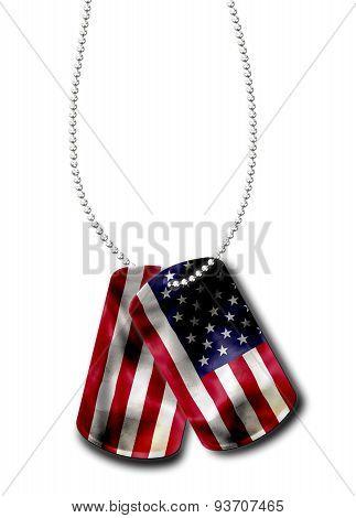 American Dog Tag
