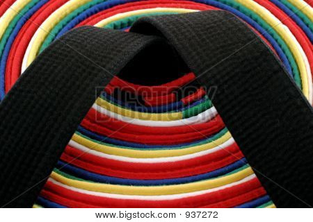 Martial Arts Belts - Circle