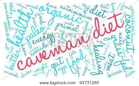Caveman Diet Word Cloud