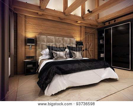 Bedroom House In The Mountain