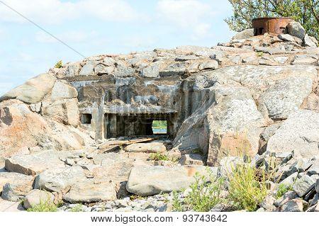 Stone Bunker Ruin