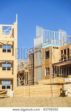 Big house under construction
