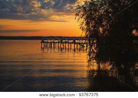 Lake Starnberg Bavaria