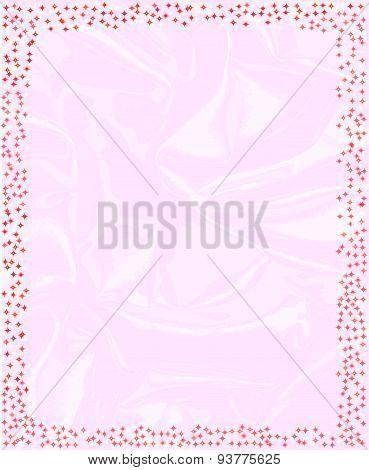 Pink Sparkling Border