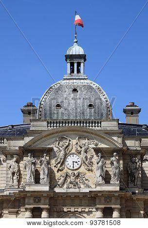 Clock Tower of Luxemburg Palace