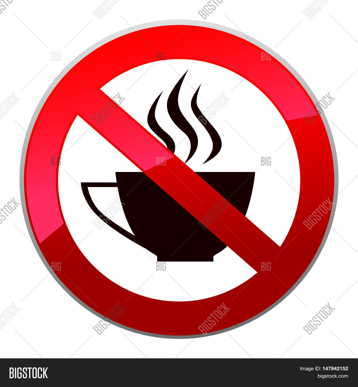 Drinks Not Allowed Vector Photo Free Trial Bigstock