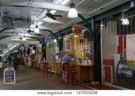 New Orleans, Louisiana, May 6, 2015 : Similar To Some European Markets, The Historic Open-air French