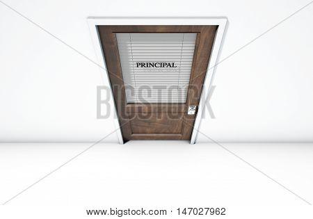 Door In Principal Room