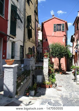 Streets And Alleys Of Portovenere C