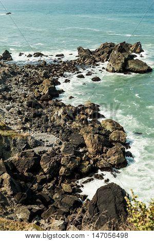 Coastal, California, Rocks, Pacific Ocean, Northern California, Ocean. West Coast