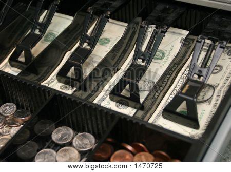 Cash Drawer Bills Coins