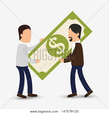 avatar efficiency work design isolated vector illustration esp 10