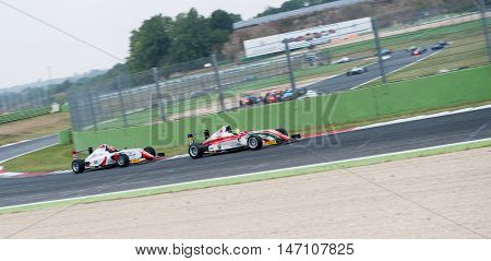 Vallelunga, Rome, Italy. September 10Th 2016. Formula 4 Championship, Mick Schumacher In Action