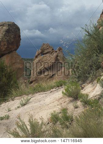 Boulders In Southwest