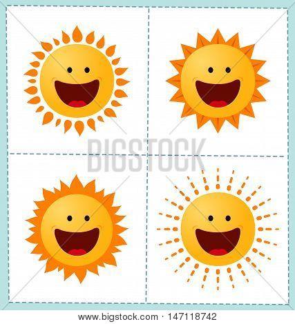 Sun Icon Collection