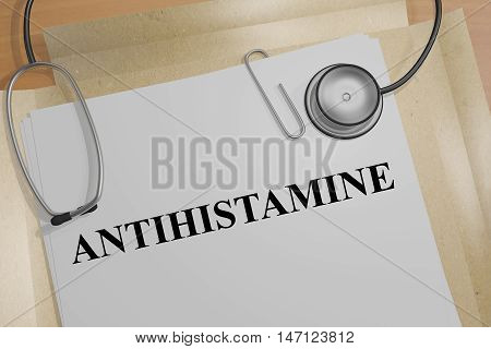 Antihistamine - Medical Concept
