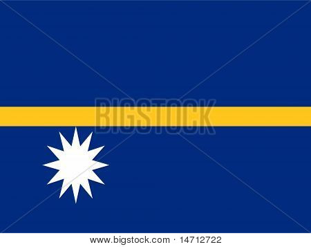 Nauru National Flag