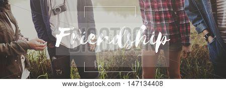 Friends Community Companionship Relationship Concept