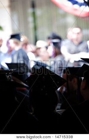 Group Of Seated Graduates