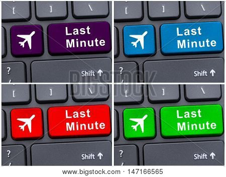 Last Minute Button On Computer Keyboard