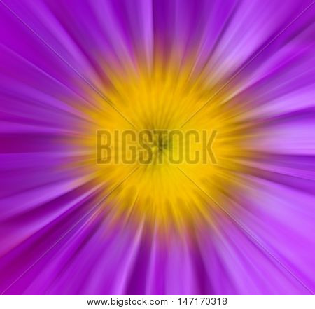 the abstract texture with radial blurred background