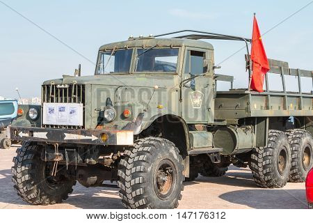 Old Truck Of The Russian Army