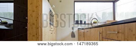 Light Wooden Kitchen Idea