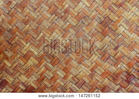 straw background, basket weave texture. bamboo texture