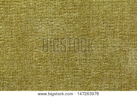 Olive green background from a soft textile material. sheathing fabric with natural texture. Cloth backdrop.