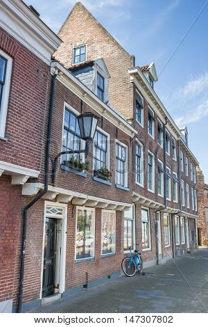 Old Houses In The Historical Center Of Zwolle