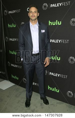 LOS ANGELES - SEP 10:  Daniel Sunjata at the PaleyFest 2016 Fall TV Preview - ABC at the Paley Center For Media on September 10, 2016 in Beverly Hills, CA