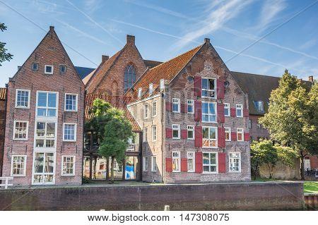 Historical Building De Oversticht In Zwolle