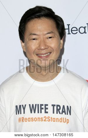 LOS ANGELES - SEP 9:  Ken Jeong at the 5th Biennial Stand Up To Cancer at the Walt Disney Concert Hall on September 9, 2016 in Los Angeles, CA