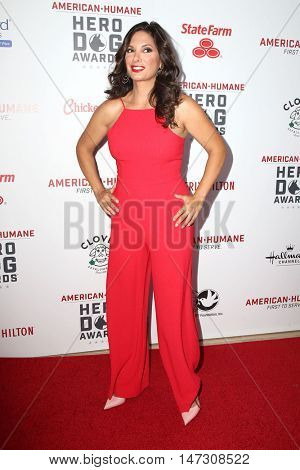 LOS ANGELES - SEP 10:  Alex Meneses at the 2016 American Humane Hero Dog Awards at the Beverly Hilton Hotel on September 10, 2016 in Beverly Hills, CA