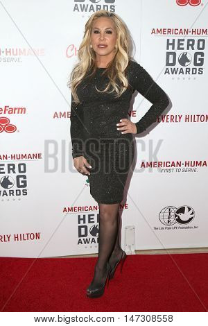 LOS ANGELES - SEP 10:  Adrienne Maloof at the 2016 American Humane Hero Dog Awards at the Beverly Hilton Hotel on September 10, 2016 in Beverly Hills, CA