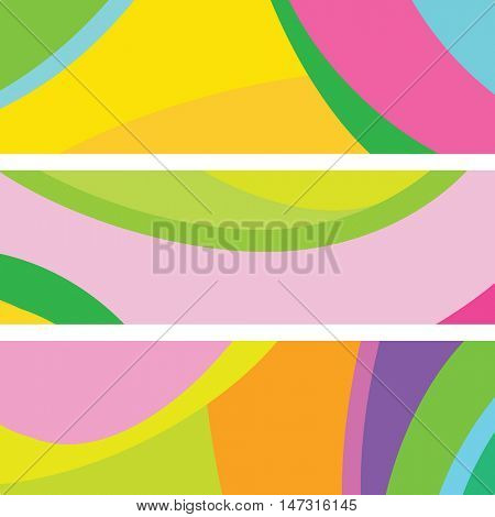 Banners - Abstract web backgrounds with copy space