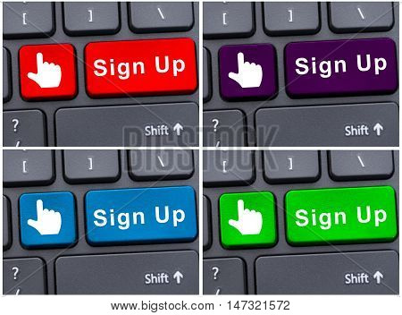 Online Registration Into Account
