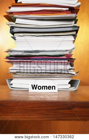Overflowing Inbox for women