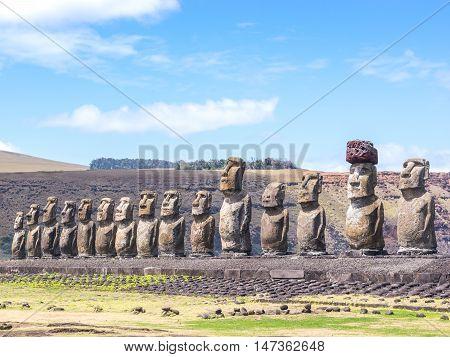 The 15 Boys Of Tongariki
