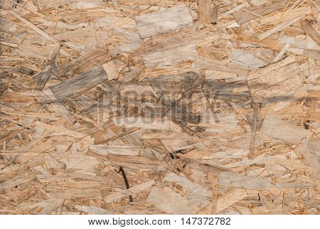 texture of wooden oriented strand board OSB
