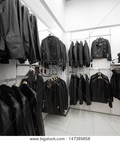 Brand New Interior Of Fur Store