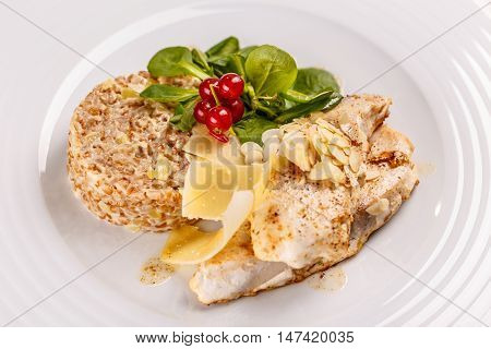 Grilled Sablefish Or Butterfish
